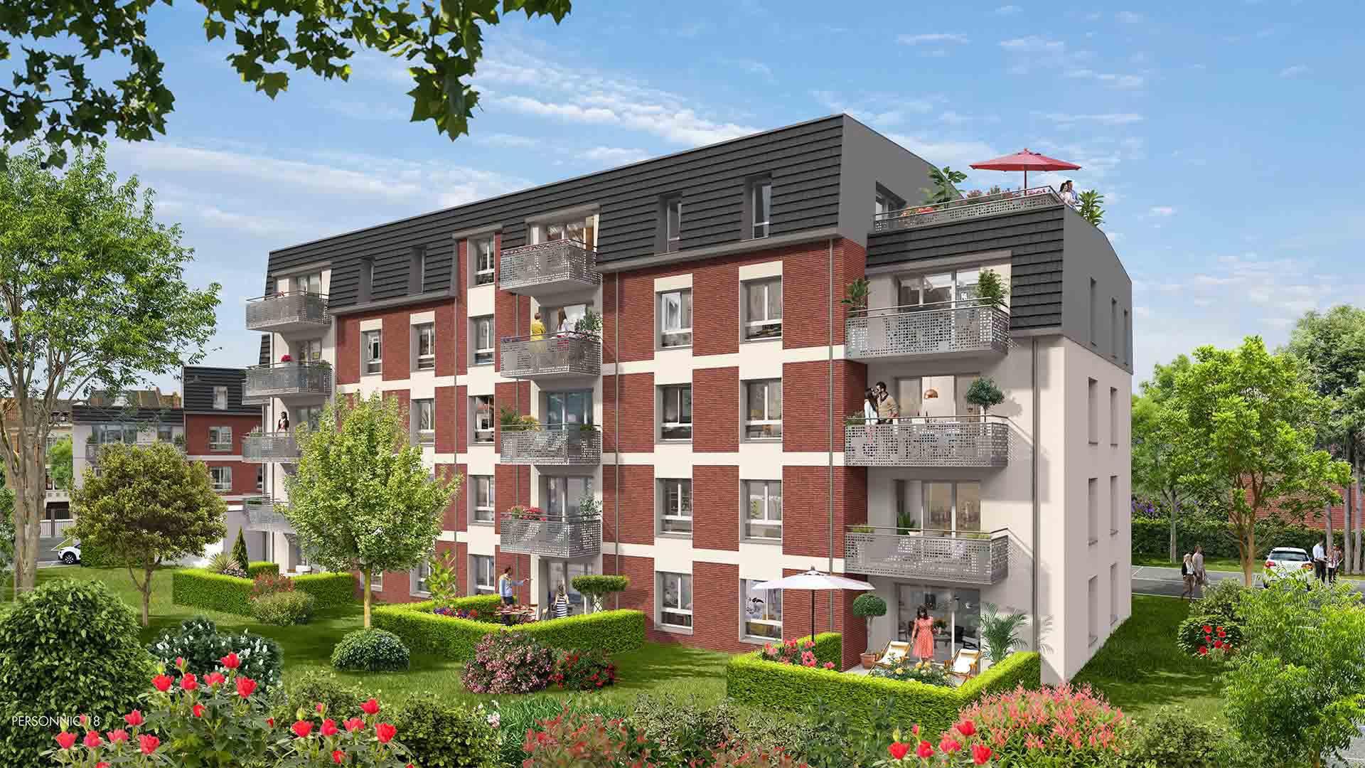 Programme Immeuble - Saint-André-lez-Lille
