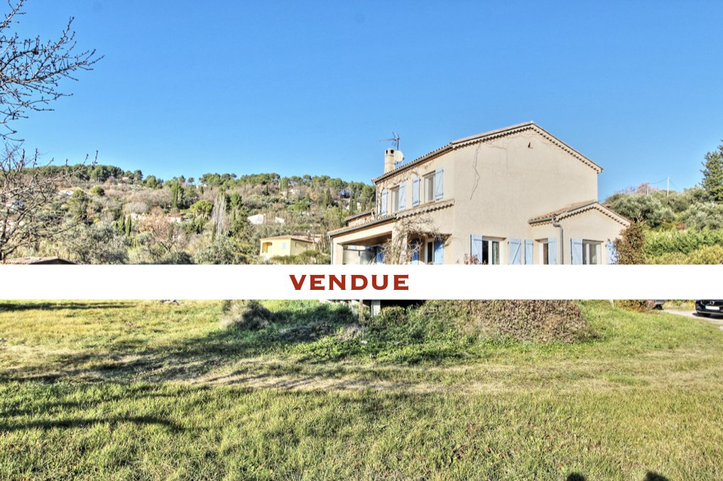 Fayence vente maison 4 chambres
