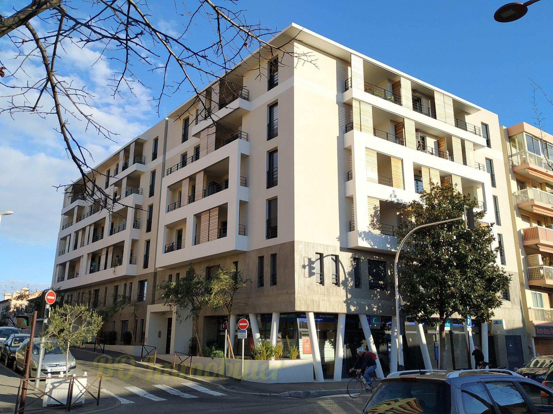2p de 46m² + Terrasse + 2 places de parking