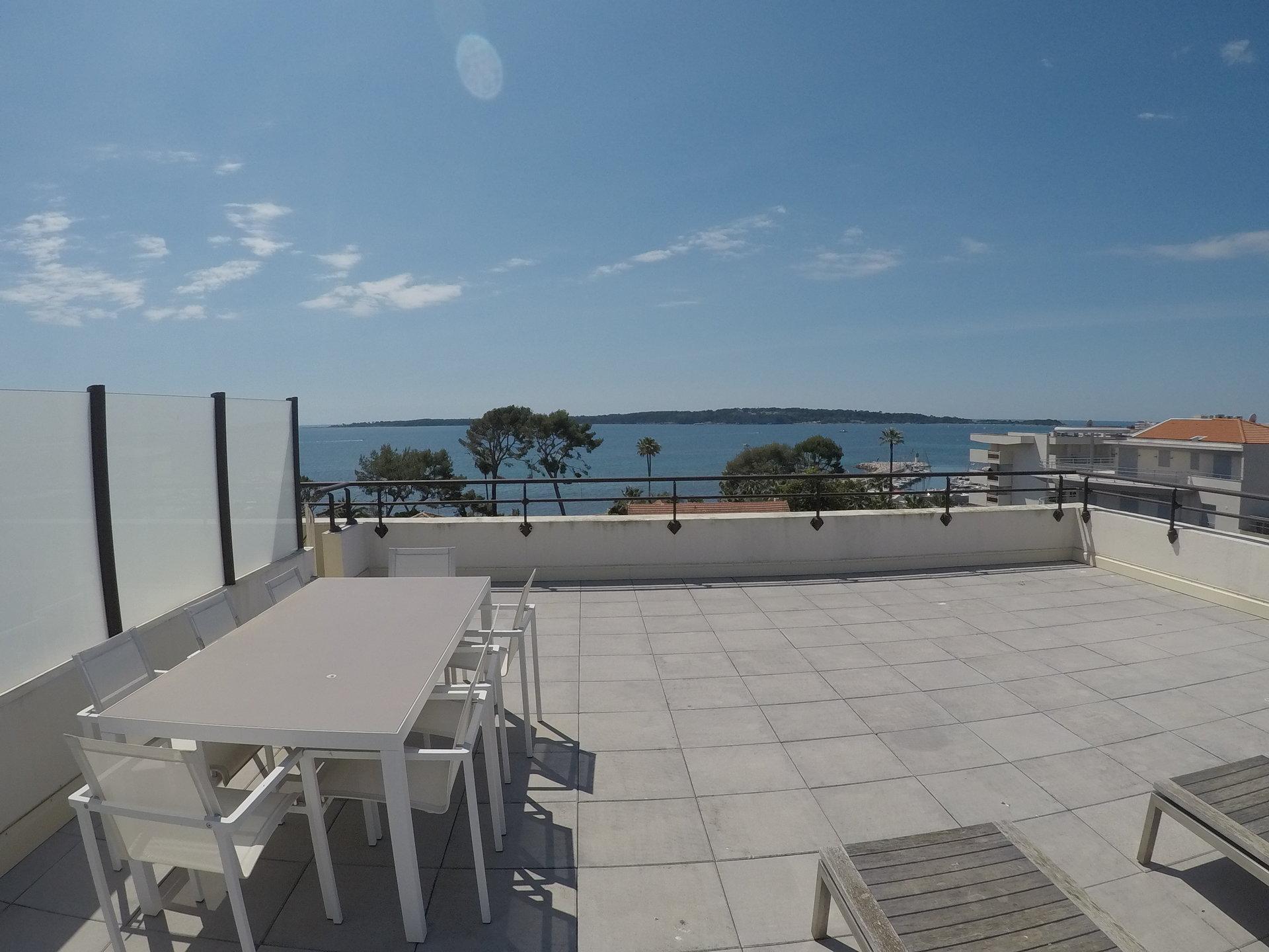 Cannes Palm Beach Vue Mer