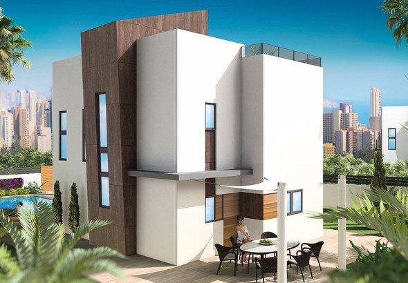 Type C-propriété dans un nouveau complexe de bâtiment