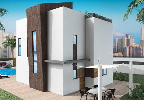 Type C-eigendom in een nieuw gebouwencomplex