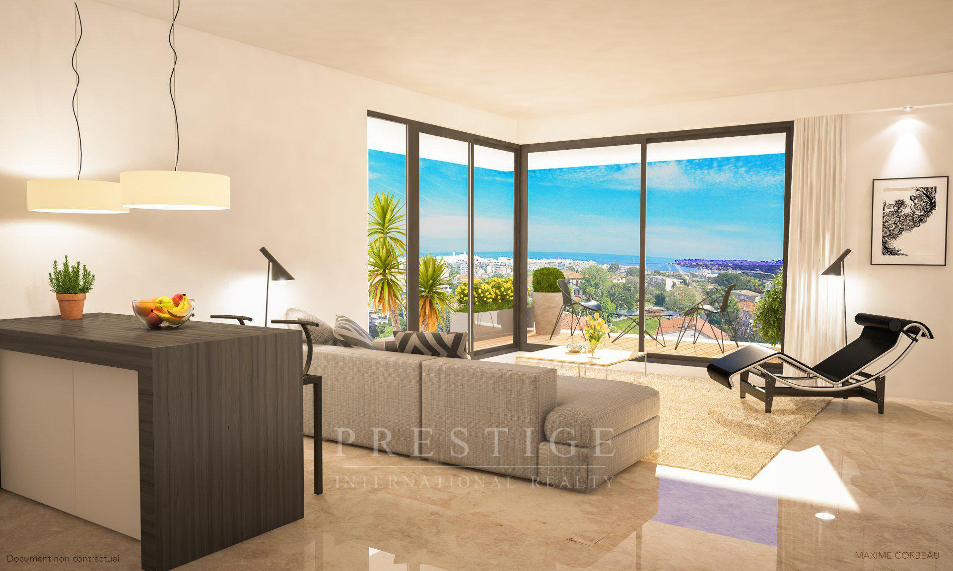 1-Bedroom apartment in Center town Antibes & parking
