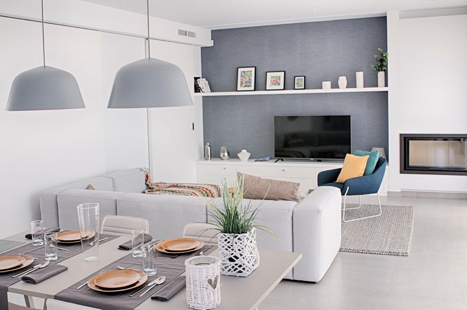 A new build modern villa on Cumbre del Sol