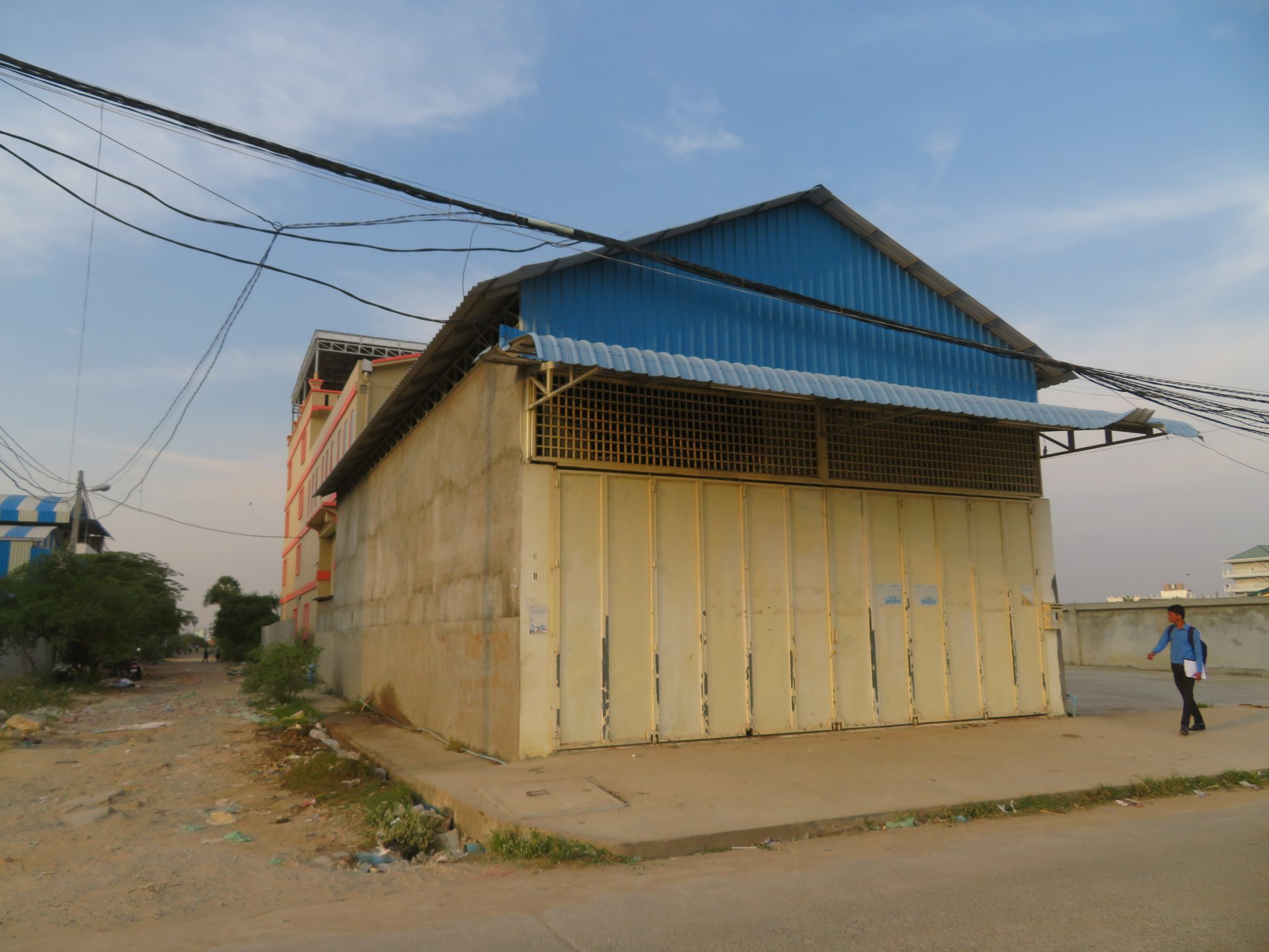 Building for sale.