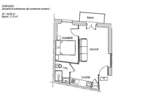 F2, acropolis, nice, vendre, appartement, terrasse
