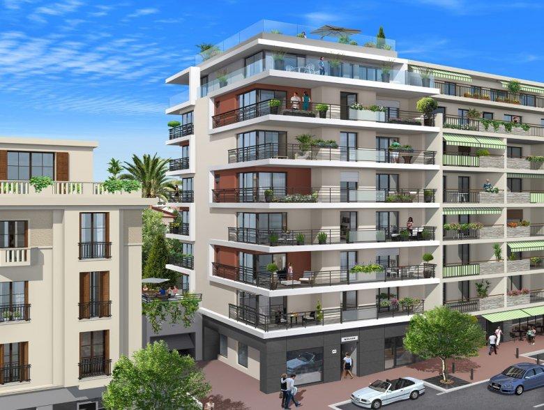 Appartements neufs dans le centre d'Antibes