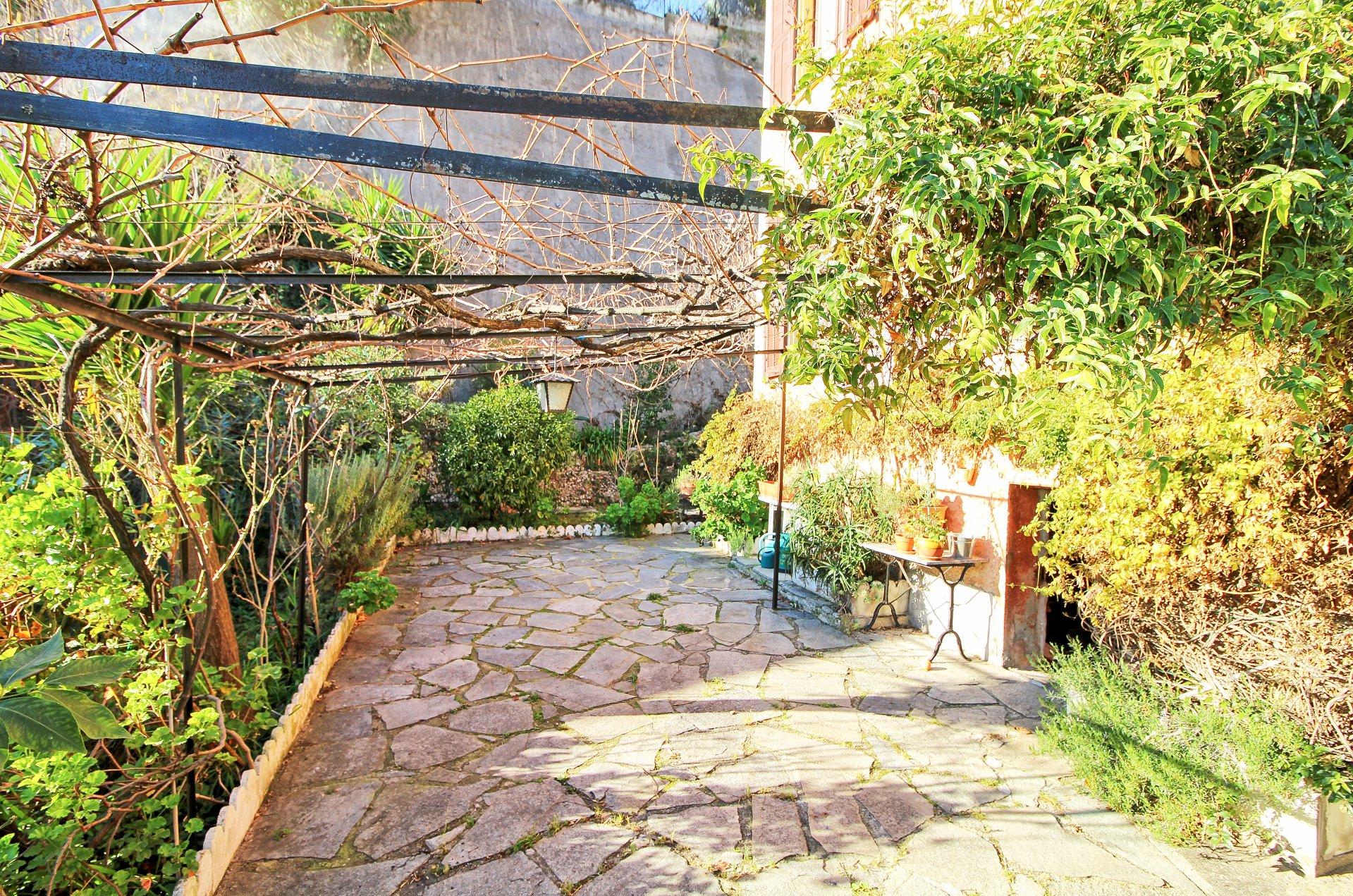 Maison, 4 pièces, jardin, maison niçoise, à vendre, Nice, Cernuschi