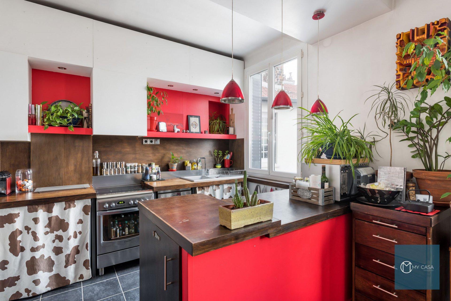 JEAN MACE / BERTHELOT - Bel appartement de 70 m2 - Dernier Etage