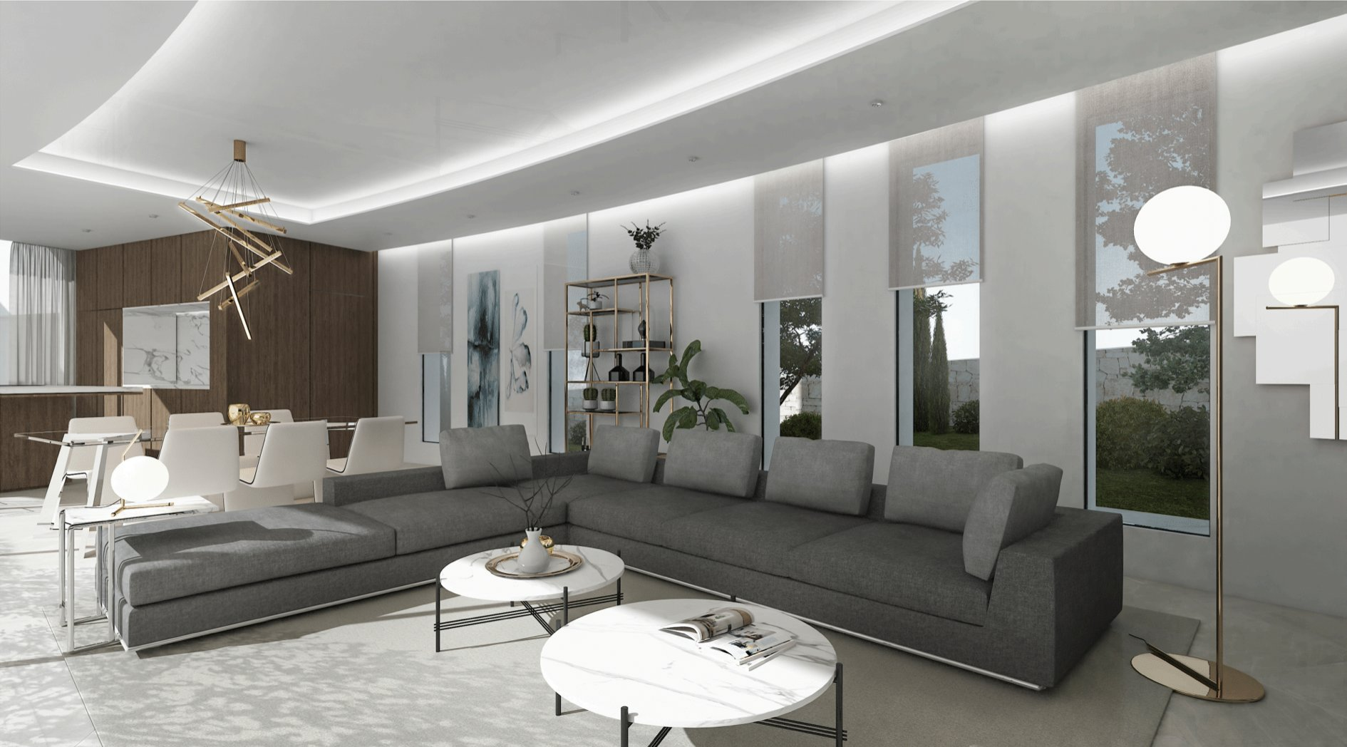 New luxury project with sea view in Javea