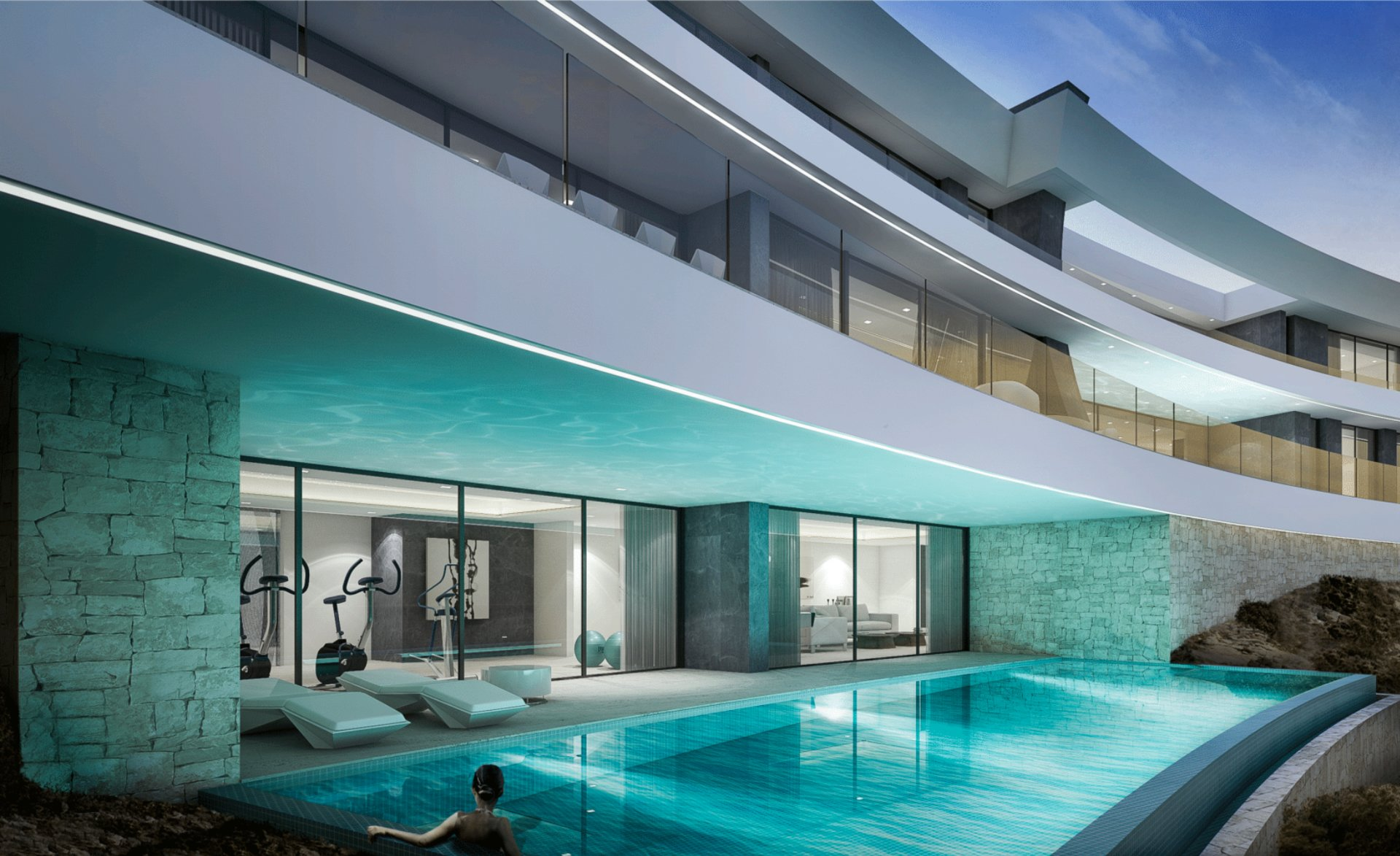 Luxury project with splendid views in Javea