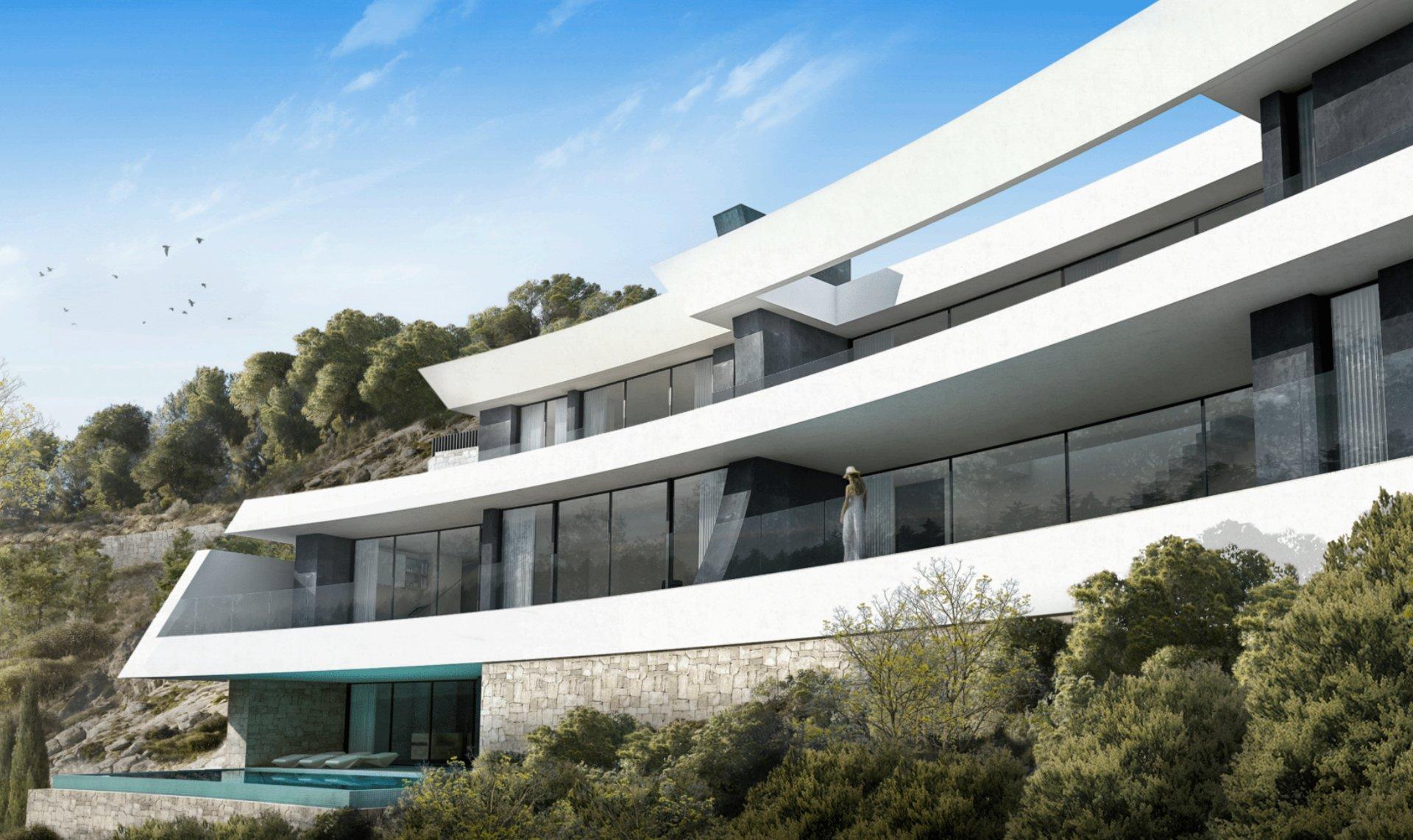 Projet de luxe avec des vues splendides à Javea