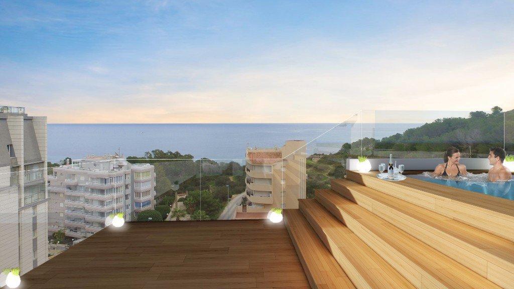 Nieuwbouw 2-slaapkamer appartement in Calpe