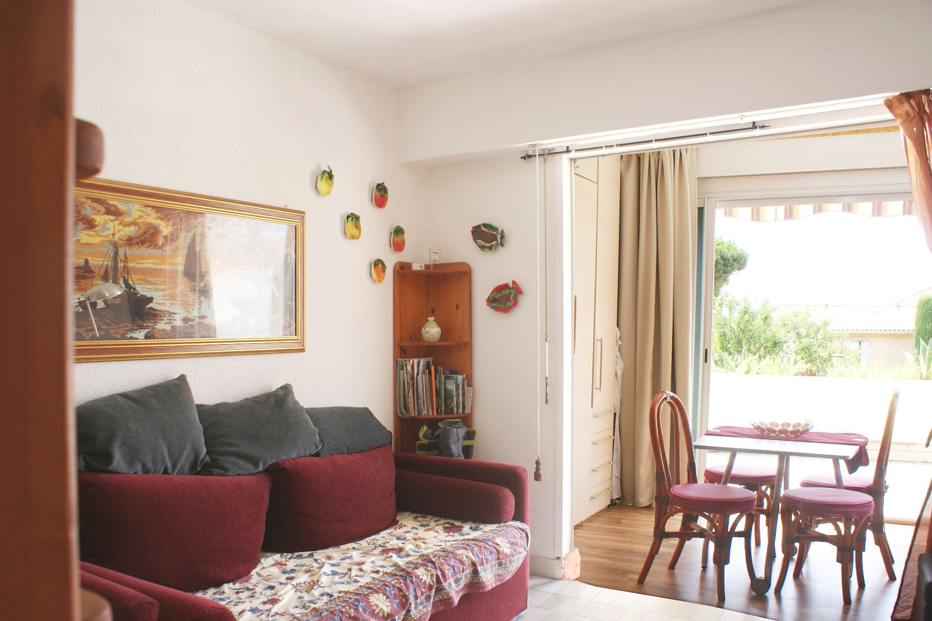 Cosy one-room apartment (studio), near the beach