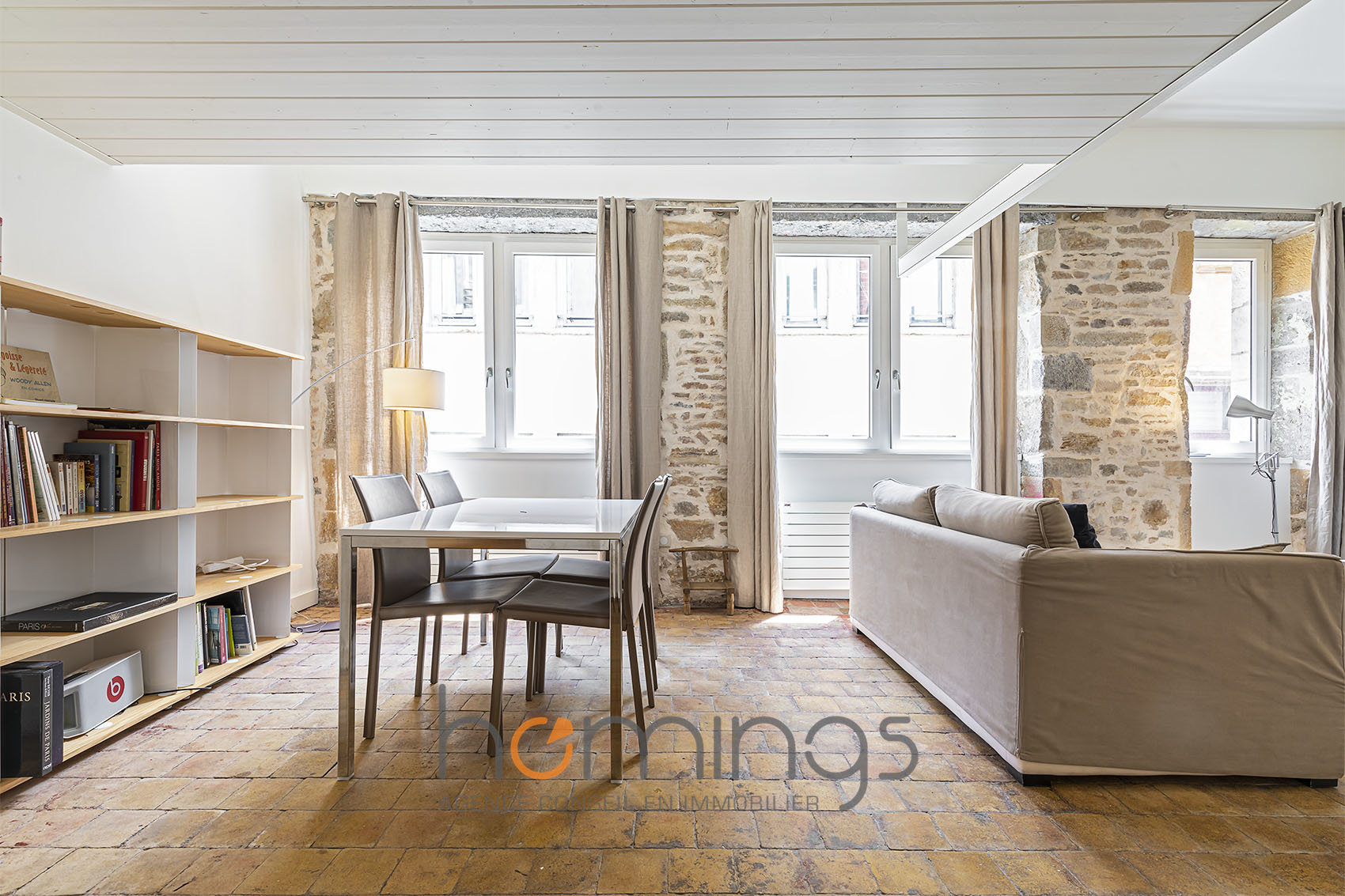 Déjà loué par notre agence -T2 meublé en duplex au coeur du Vieux Lyon