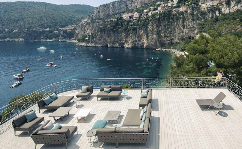 SEASONAL RENTAL VILLA CAP D'AIL SEA VIEW
