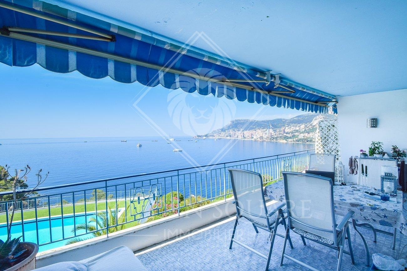 LA CAP SPLENDID 2 BEDROOM PANORAMIC SEA&MONACO VIEWS