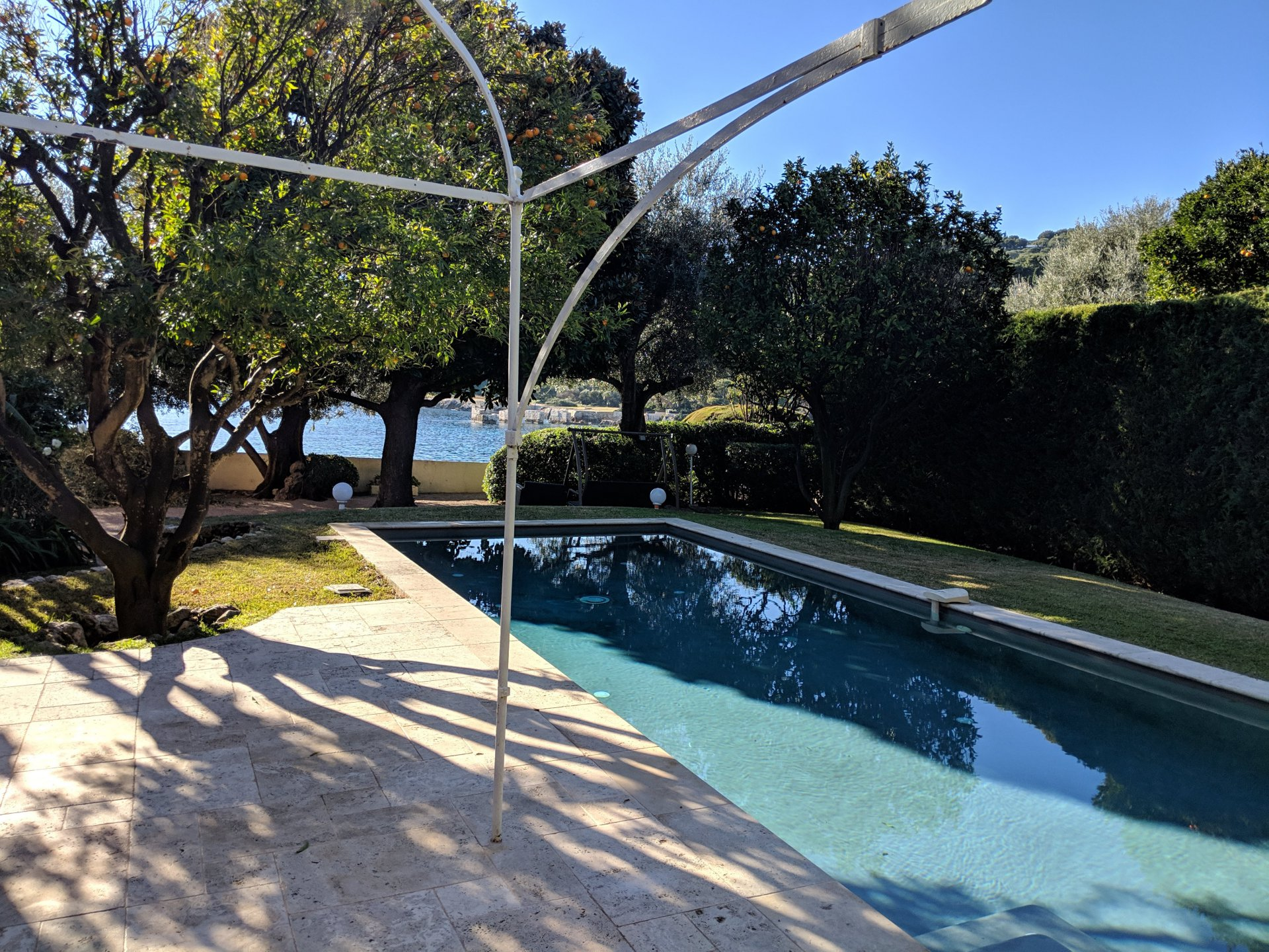 Villa for seasonal rent in Saint Jean Cap Ferrat