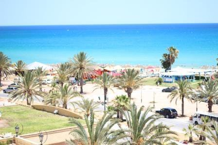 Apartments 1, 2 and 3 bedrooms furnished sea view