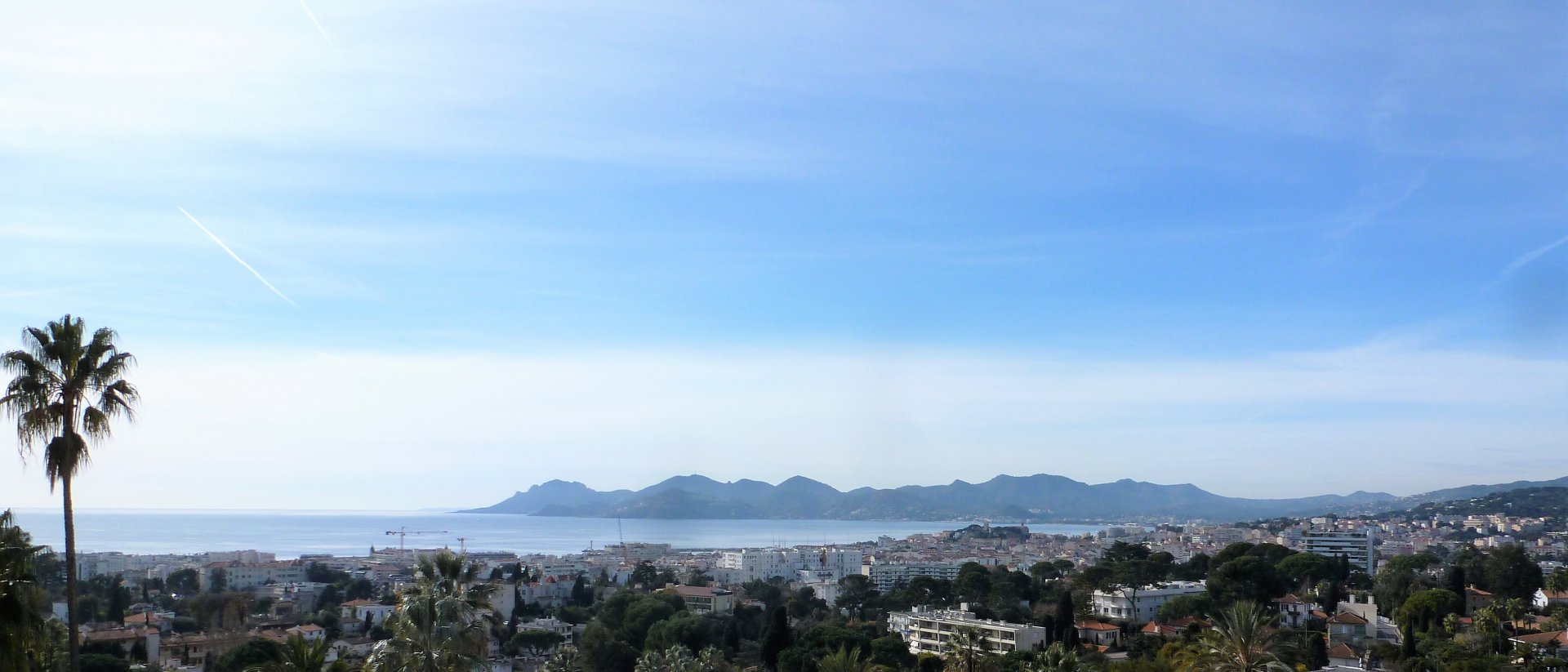 VENTE CANNES APPARTEMENT 2P 75M² + 20M² TER VUE MER PANORAMIQUE