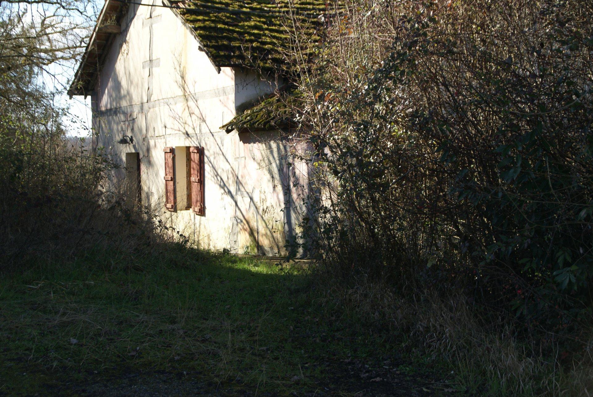 Mini-Camping met bijgebouwen in de Gers / Midi-Pyreneeën