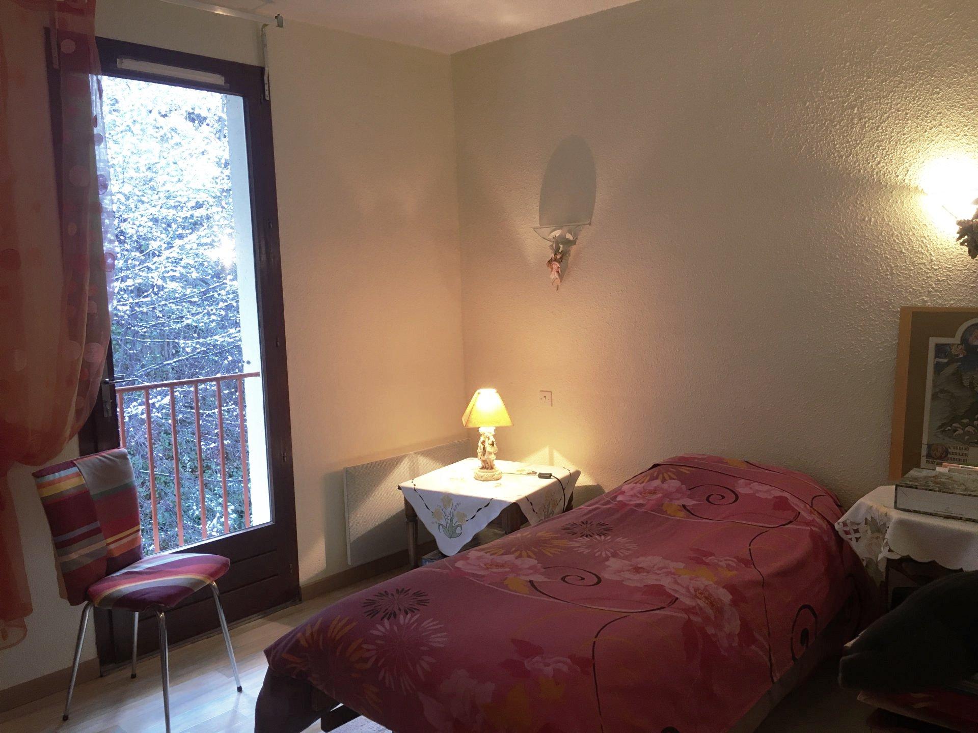 A Vernet les Bains, appartement 1 chambre, balcon, parking