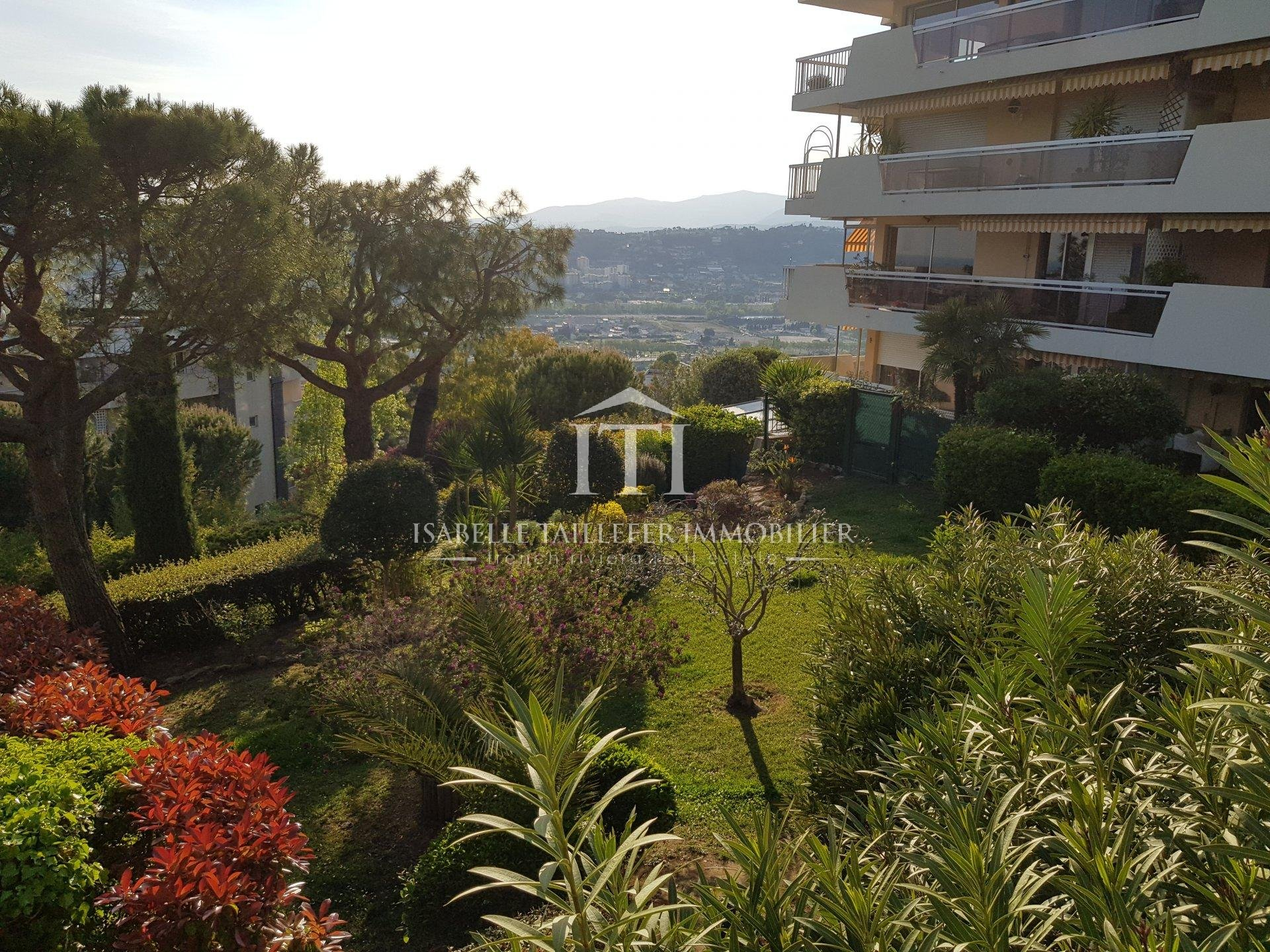 FRENCH RIVIERA NICE - Apartment with garden