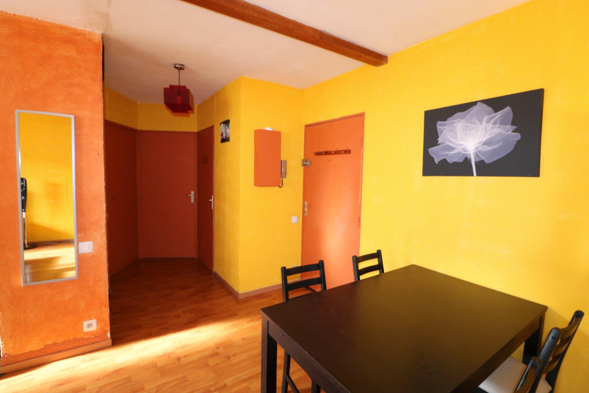 Appartement T2 avec loggia et parking