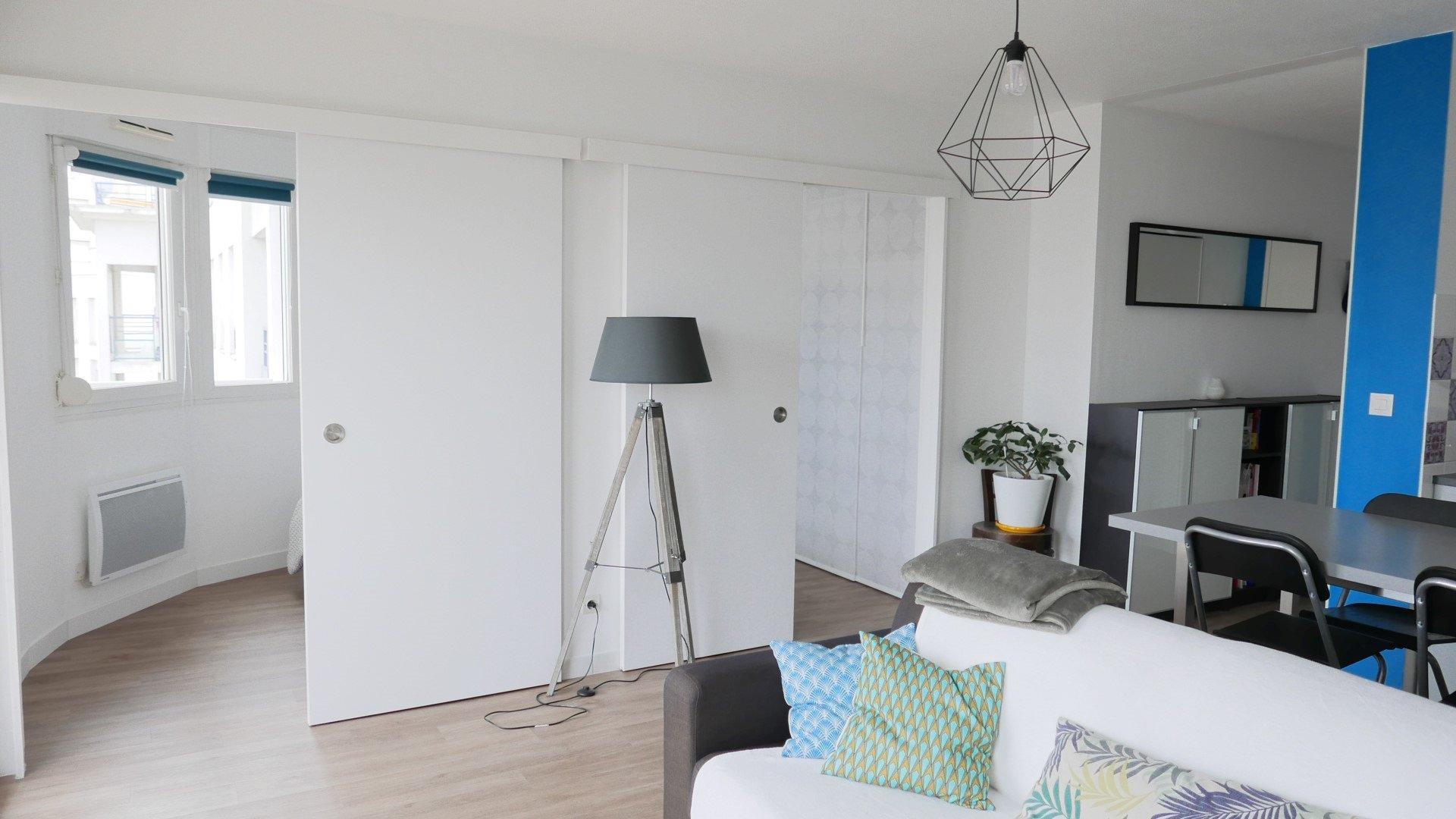 Achat Appartement, Surface de 40.85 m²/ Total carrez : 40 m², 2 pièces, Lyon 8ème (69008)