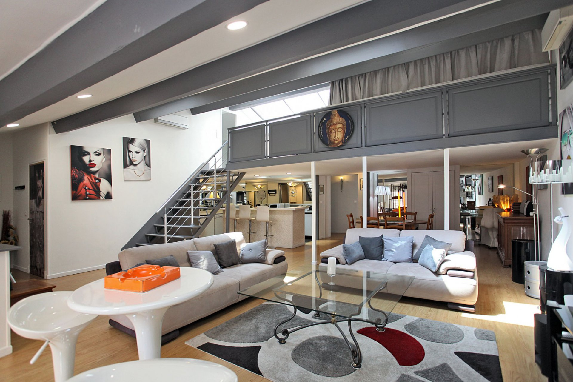 Duplex loft appartement in Cannes aan de Côte d'Azur