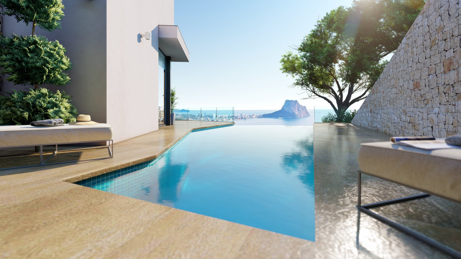 New built luxury villa in Calpe