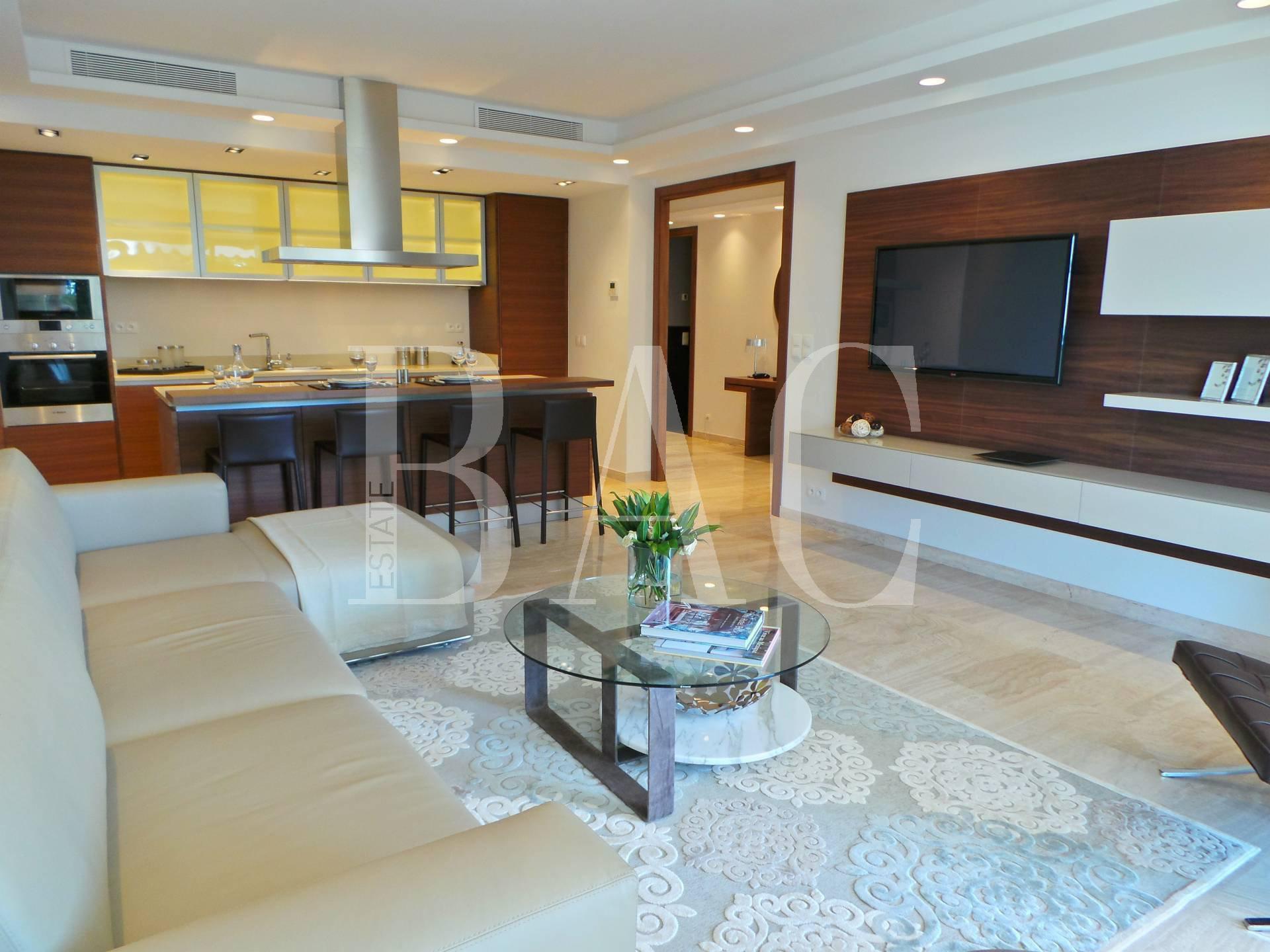 Cannes, appartement digne d'un grand hôtel