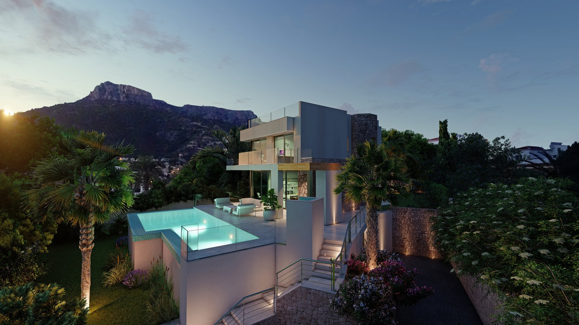 Luxury property in Calpe