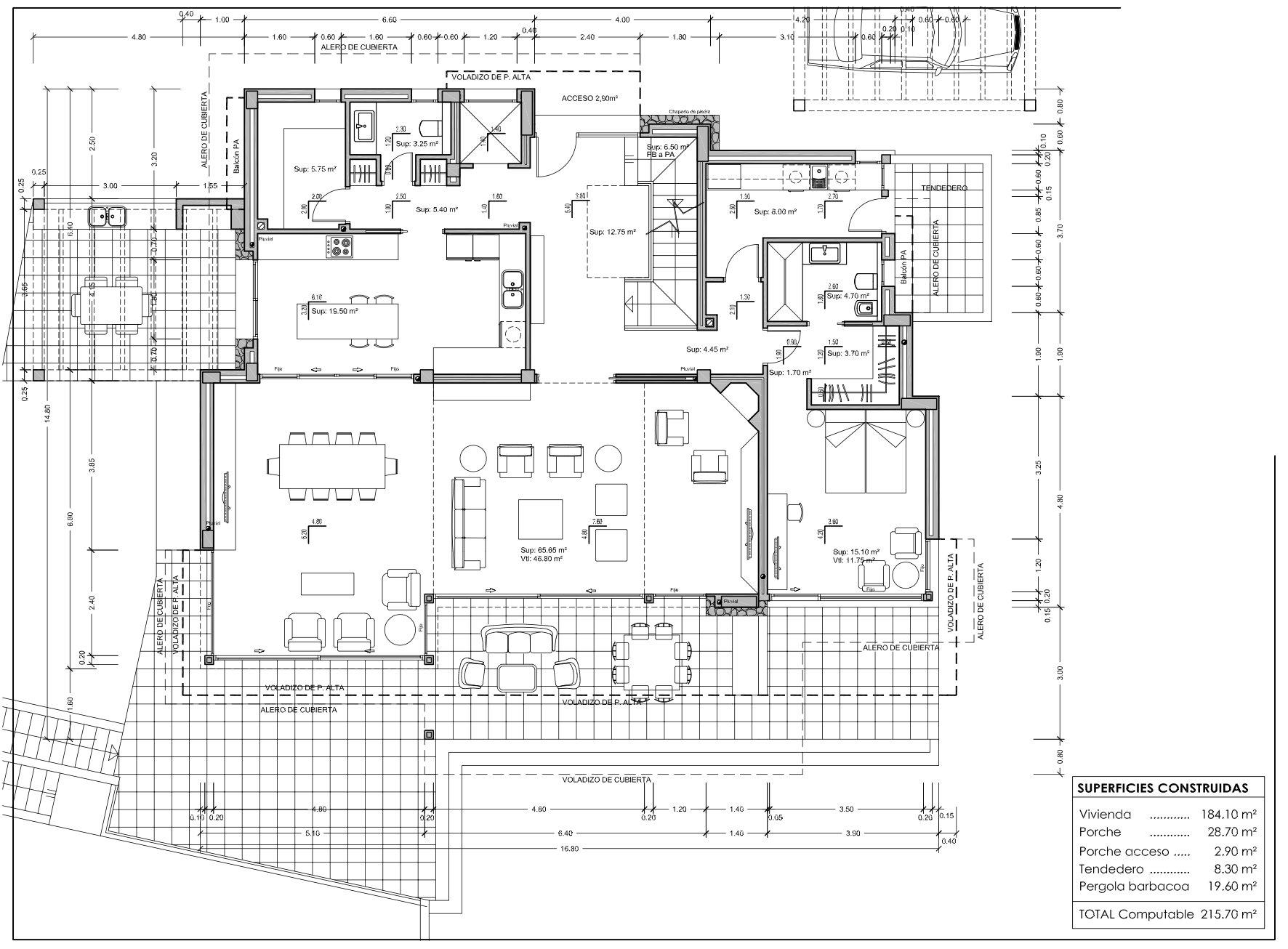 Une nouvelle maison de luxe à Calpe proche de la mer et des commodités
