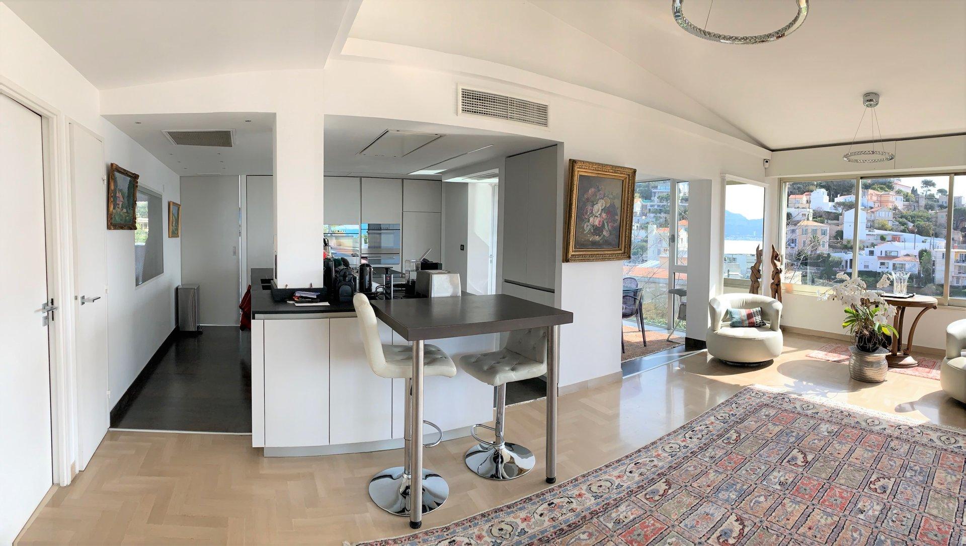 Marseille 7ème - Villa au calme avec vue mer
