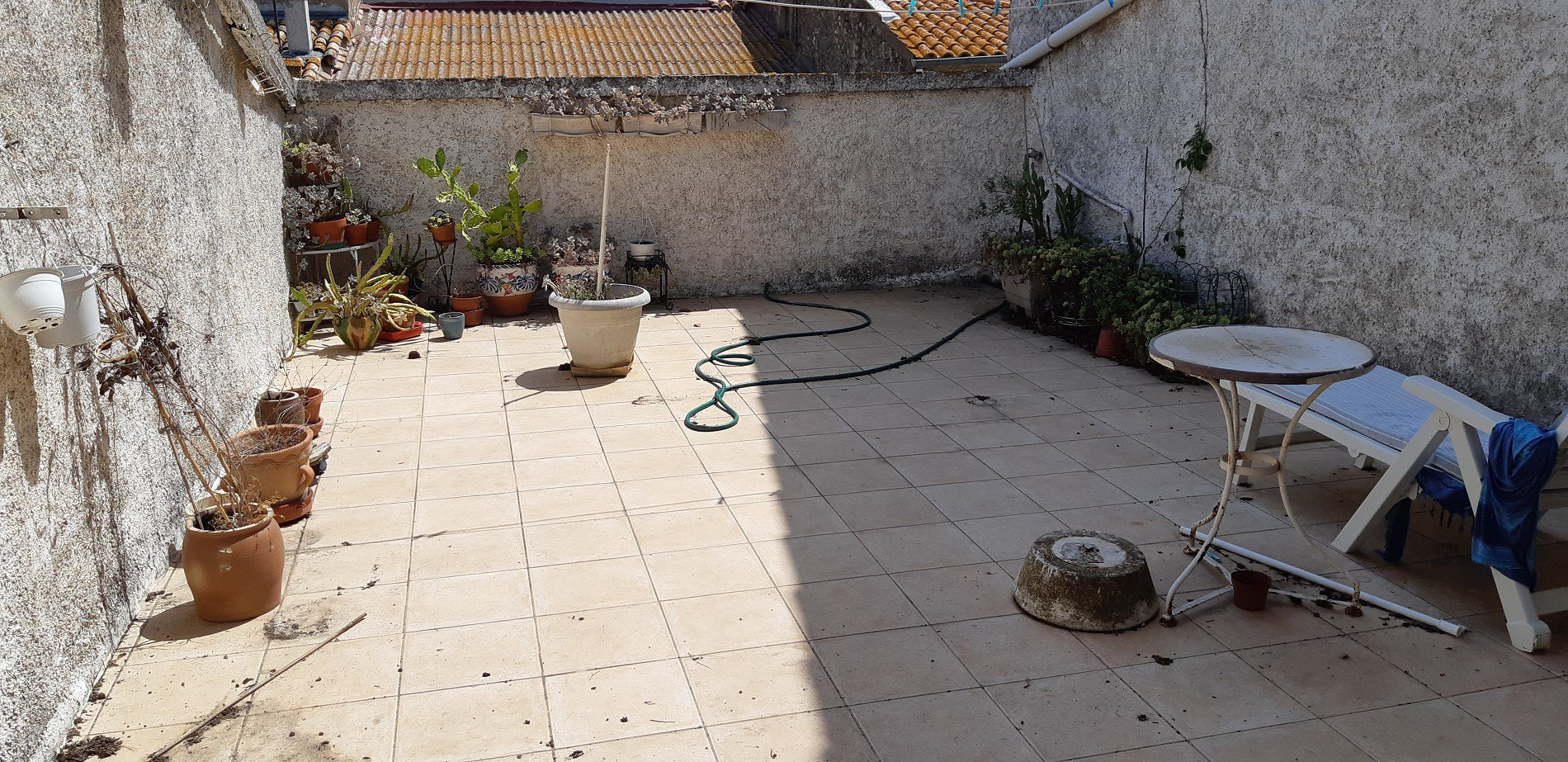 Maison vigneronne avec terrasse