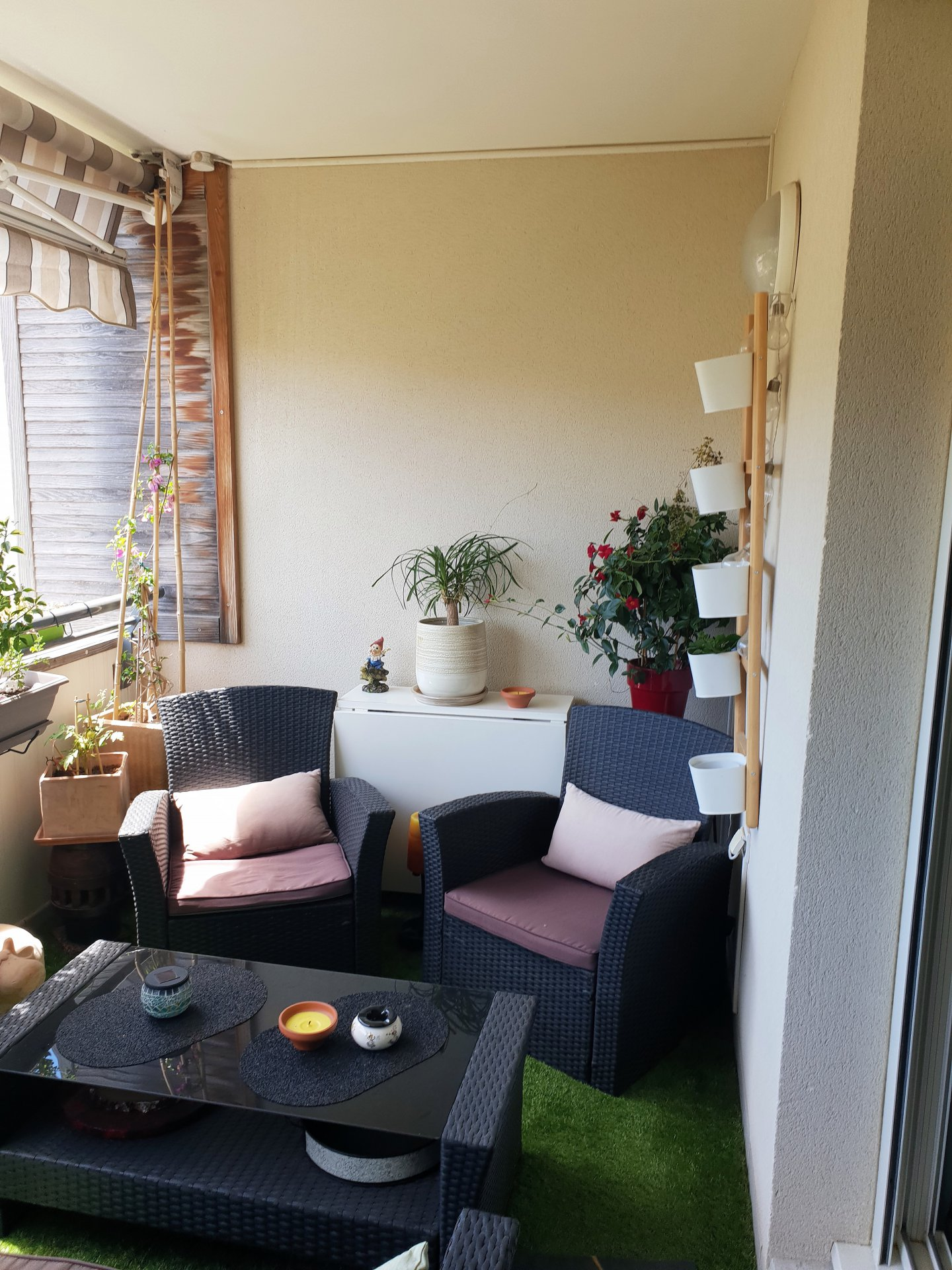 Bonneveine - Vieille Chapelle T3 avec terrase et garage