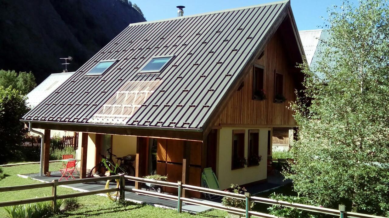 Maison ossature bois récente