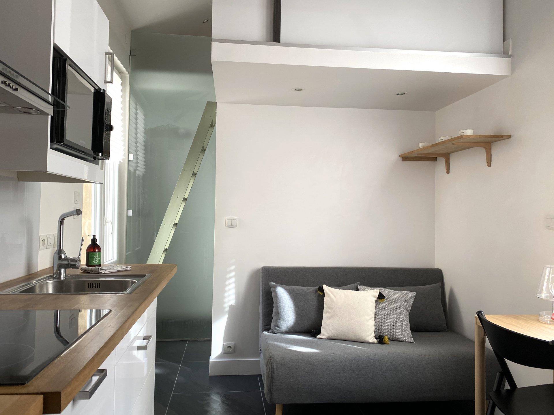 Loué par notre agence - Duplex rénové rue de créqui Lyon 3e