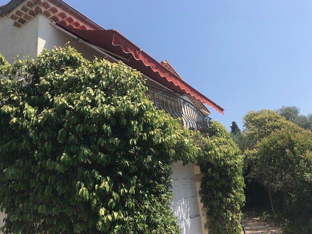 Mougins les Colles, belle villa avec vue mer