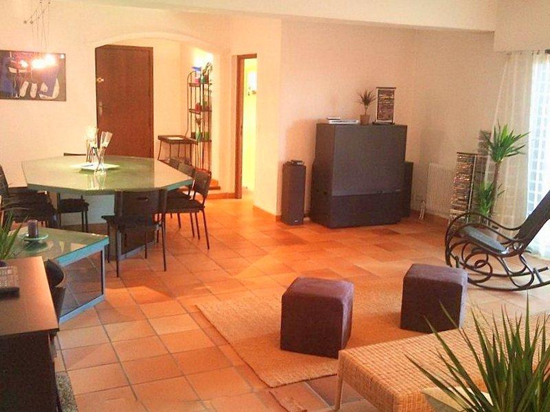 Nice Mont Boron propriété 600 m salon