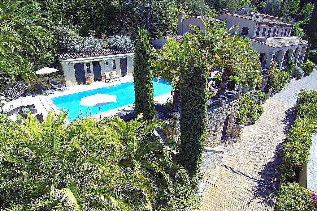 Nice Mont Boron propriété 600 m piscine et parc arbore