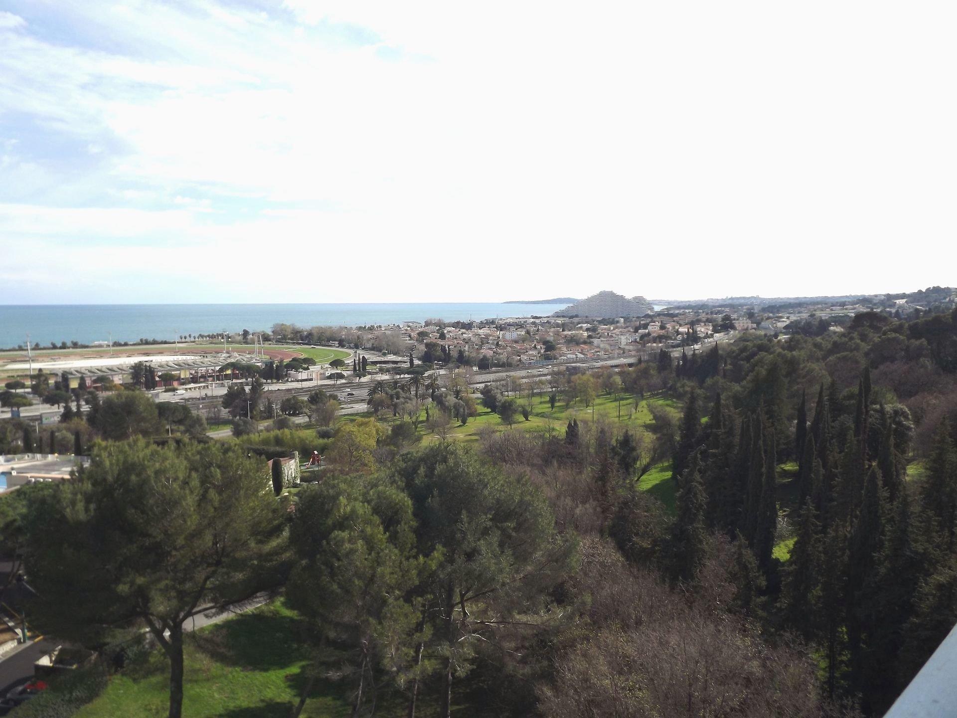 4 P vue mer panoramique - Domaine du Loup - Cagnes sur mer
