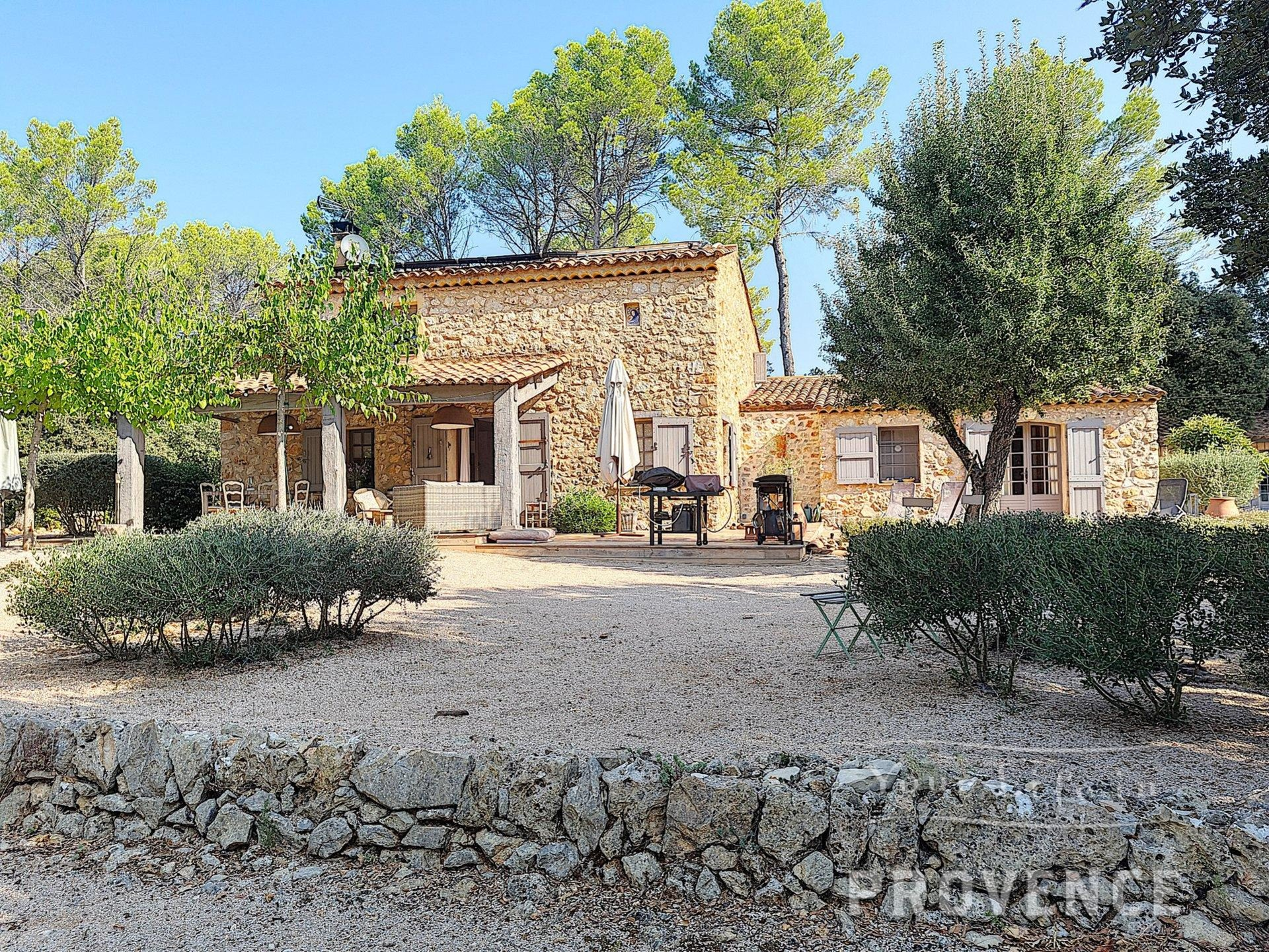 UNDER OFFER    SOLE AGENT !!! Superbly renovated Stone Bastide on 1.6hect near Cotignac