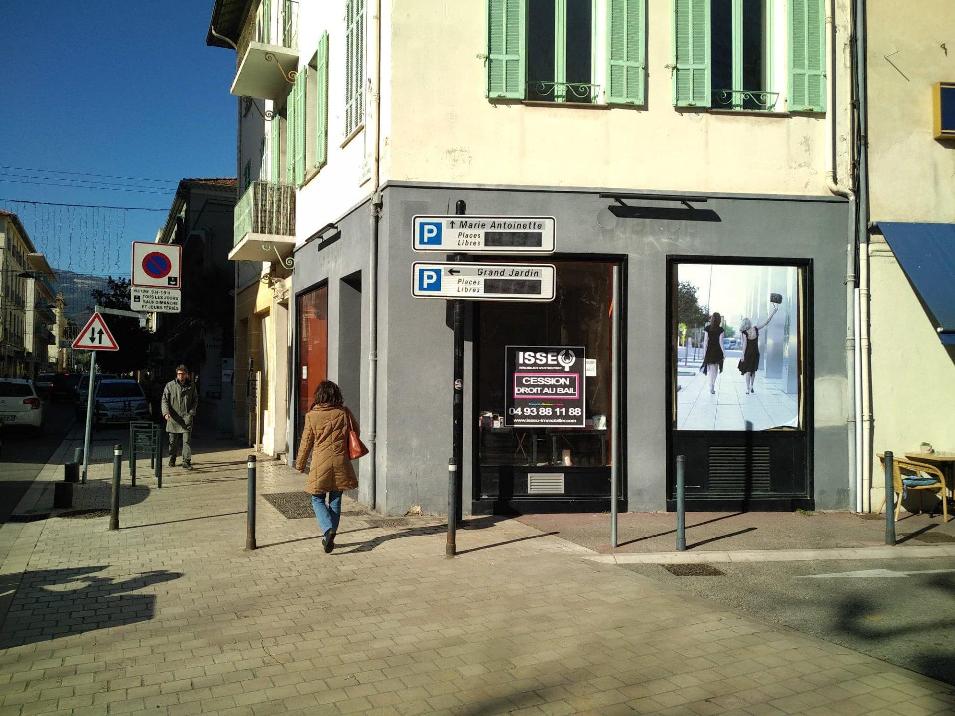 Cession de fond de commerce Centre ville de VENCE