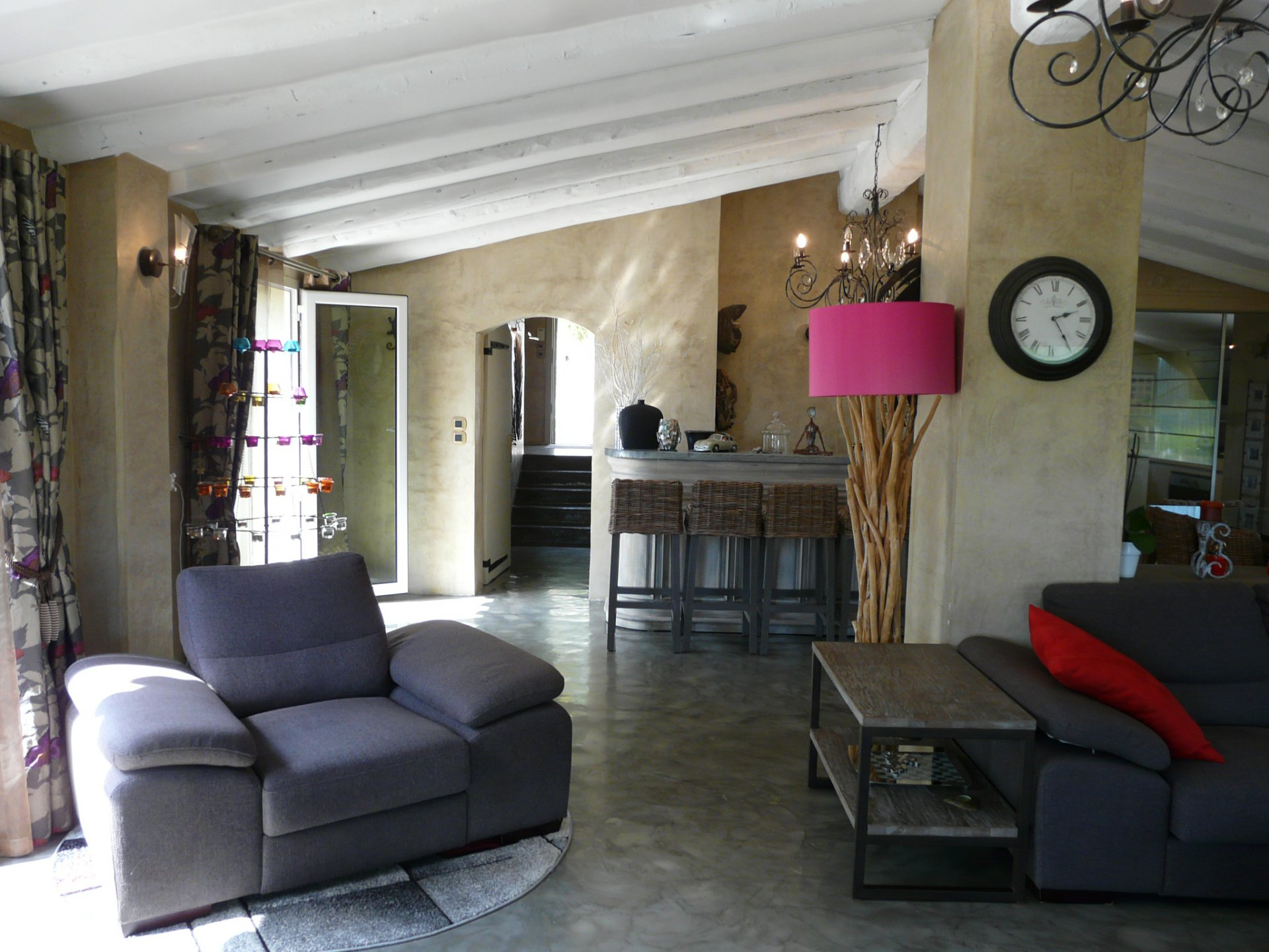BEAUTIFUL PROVENCAL VILLA-SEA VIEW-OLD VILLAGE OF MOUGINS