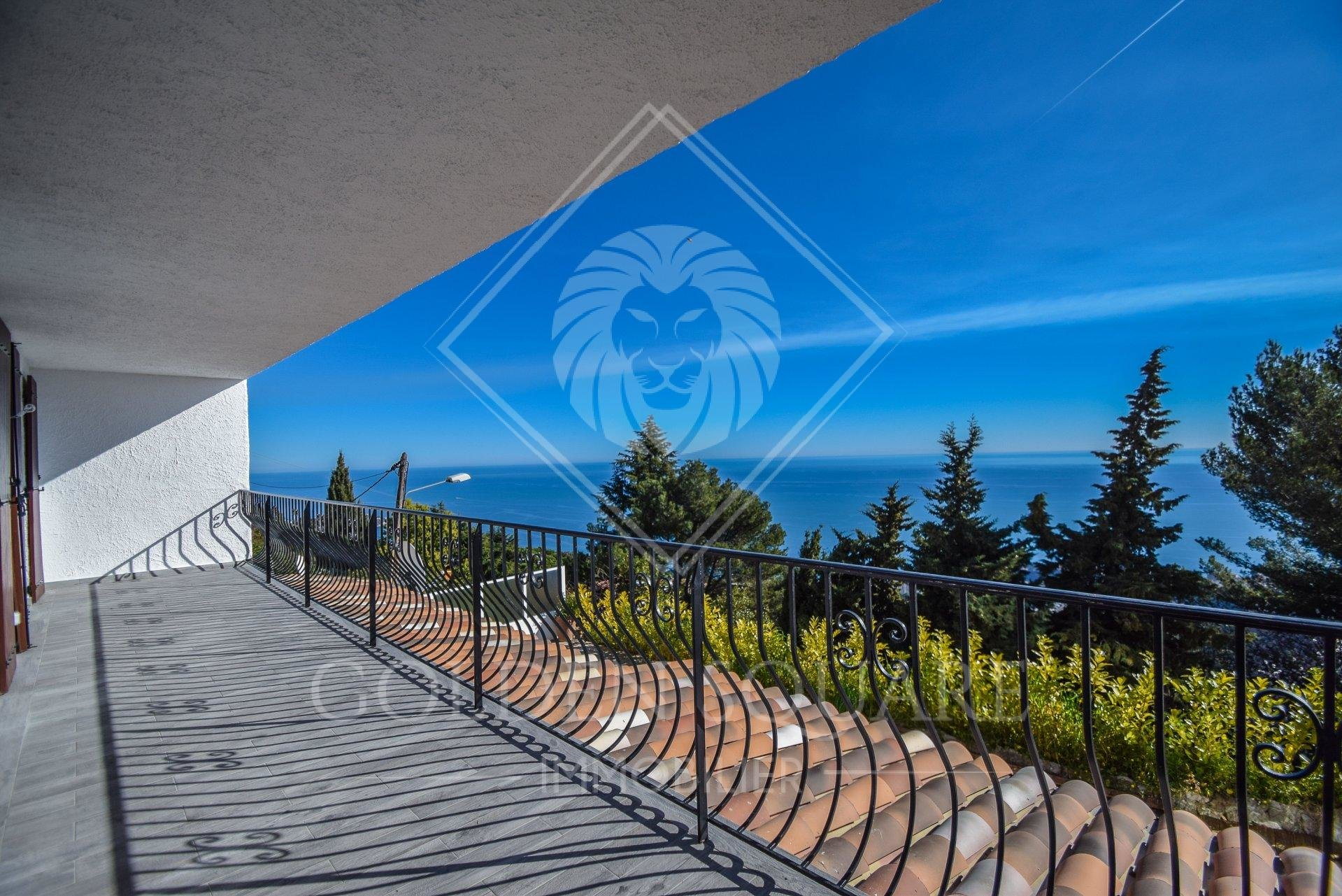 LA TURBIE - 3 BEDROOM - PANORAMIC SEAVIEW