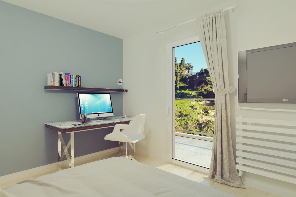 Appartements neufs dans un jardin d'Eden à Menton