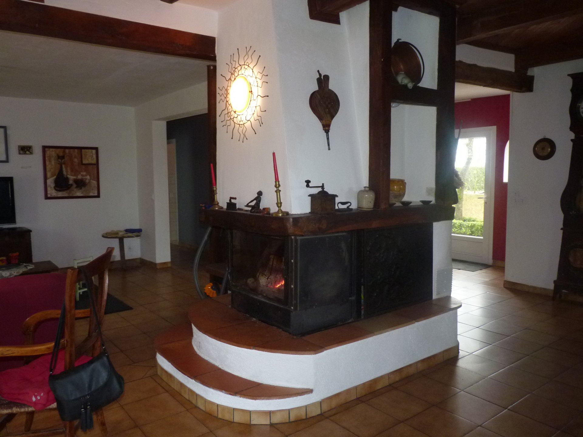 Area close to Fousseret, family house on more than 5 hectares