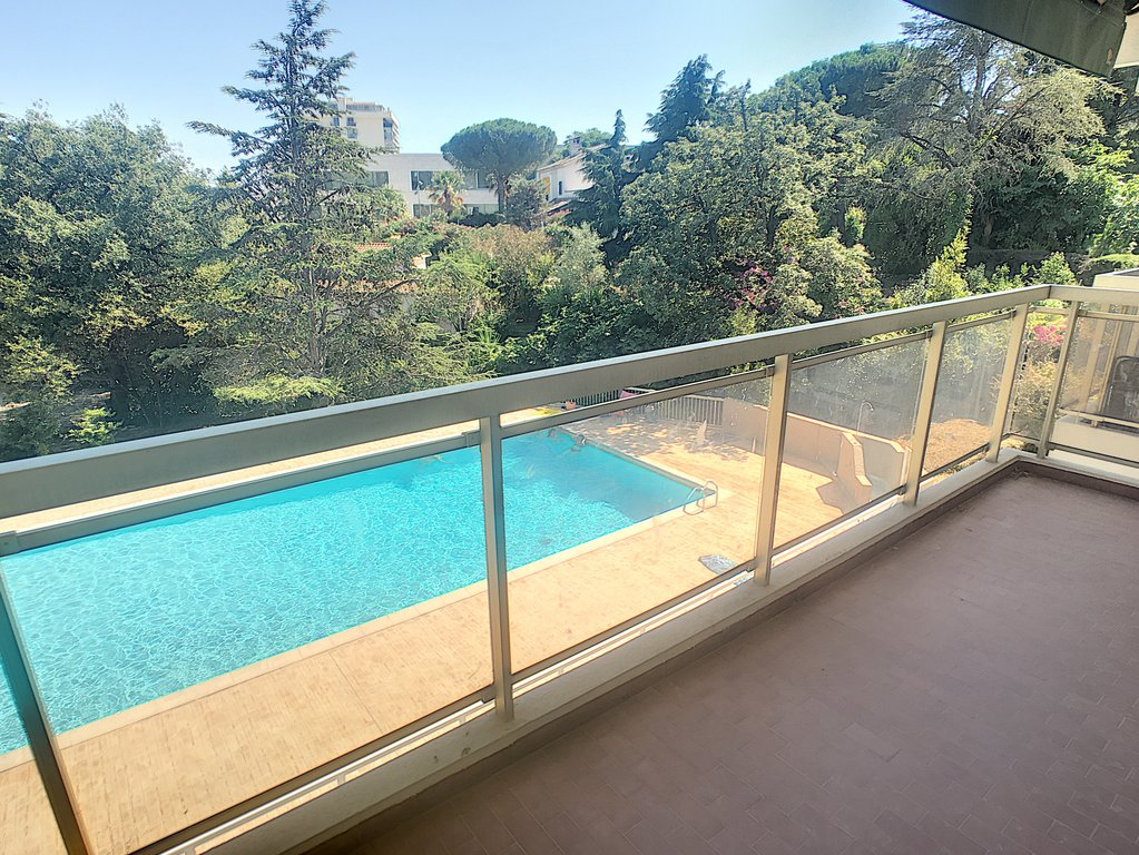 Cannes - Studio terrace pool